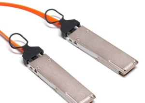 40GBASE QSFP+ AOC Cable, 10M