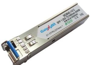 SFP,BiDi,1.25Gb/s,SMF,Tx1490/Rx1310,40km