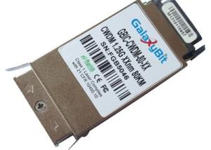 GBIC,1.25Gb/s,1000Base-ZX,SMF,CWDM,80KM