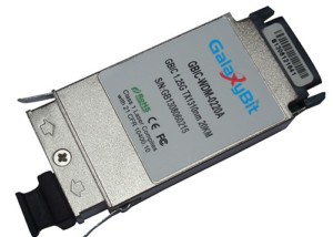 GBIC,BiDi,1.25Gb/s,SMF,Tx1310/Rx1550nm,20KM