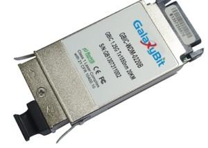 GBIC,BiDi,1.25Gb/s,SMF,Tx1550/Rx1310nm,20KM