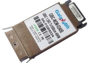 GBIC,BiDi,1.25Gb/s,SMF,Tx1550/Rx1310nm,40KM
